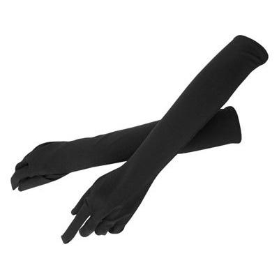 オナニーグッズの手袋(ロング) ブラック