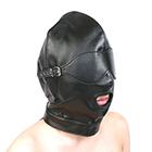 全頭フェイスマスク 目隠し・口開きタイプ